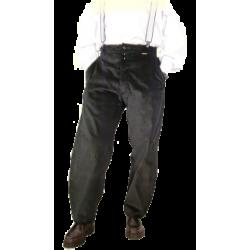 Pantalon LARGEOT à PASSANT - Noir