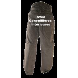 Pantalon LARGEOT à TIRANT avec Genouillières INTERIEURES